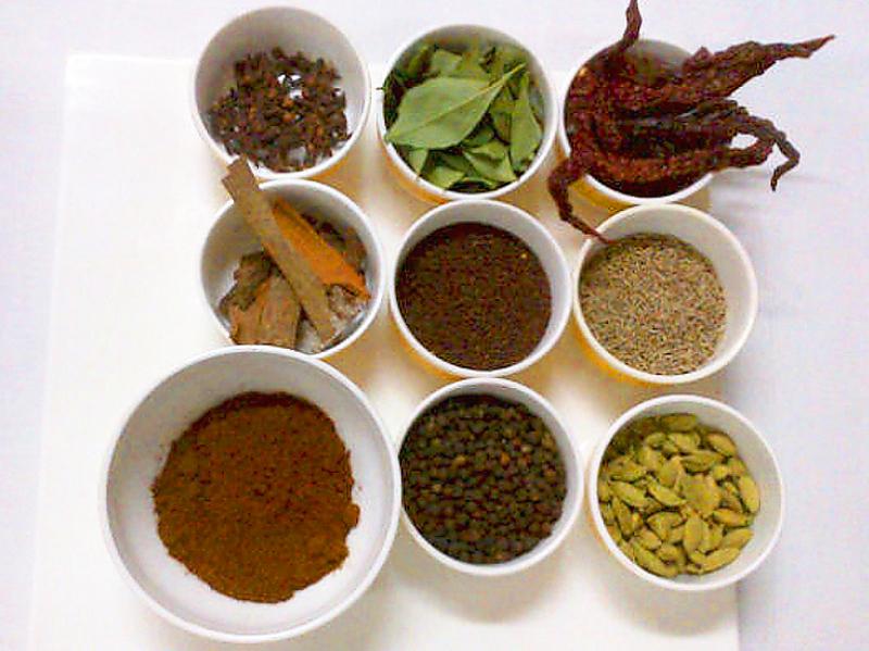 मसाल्याच्या पदार्थांचे औषधी गुणधर्म